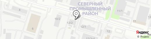 Русская забава на карте Сургута