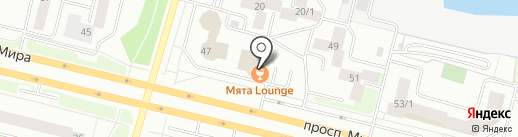 Суши-Сити24 на карте Сургута