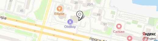 Студия стрижек Лилии Король на карте Сургута