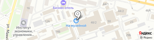 Мартис на карте Сургута