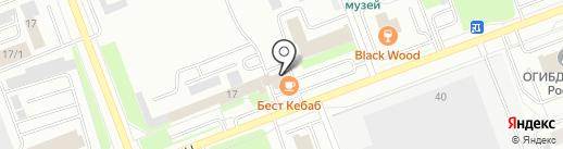 Super Кебаб на карте Сургута