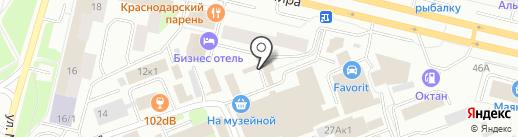 Магазин бытовой химии на карте Сургута