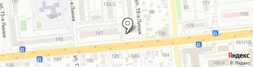 Домисолька на карте Омска