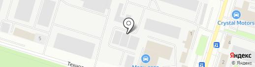 Боюн на карте Сургута