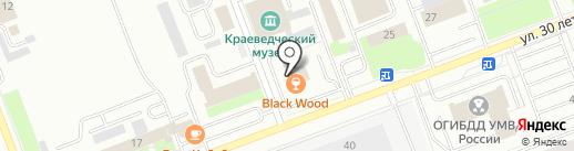 Мотор и КПП на карте Сургута