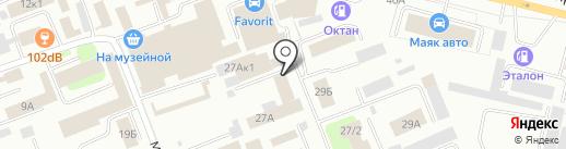 Ателье Юлии Уфимцевой на карте Сургута