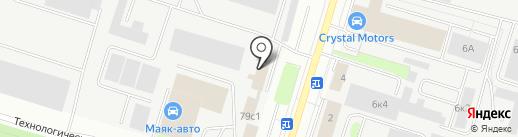 ДЭП на карте Сургута