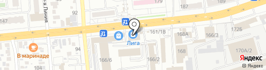 Центр консалтинговых услуг на карте Омска