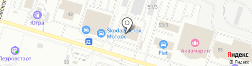 КYХНИ ADM на карте Сургута