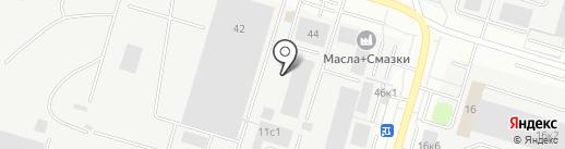 Авто-рем на карте Сургута