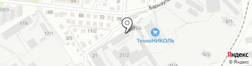 Магазин деревенских продуктов на карте Омска