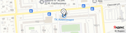 АвтоЭвакуатор55 на карте Омска
