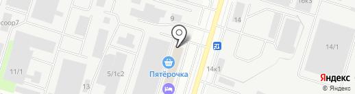 ЛАС на карте Сургута