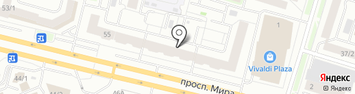 СЕВЕР на карте Сургута