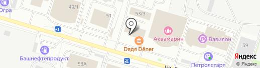 Альянс Моторс на карте Сургута