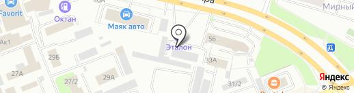 Сургутлес на карте Сургута