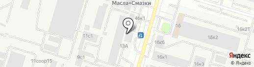 Ланкон на карте Сургута