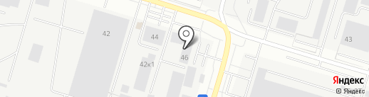 БетонРесурс, ЗАО на карте Сургута