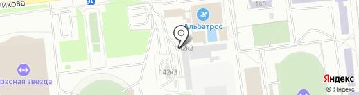 Компания по тонировке автомобилей на карте Омска