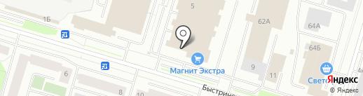 SIM-центр на карте Сургута