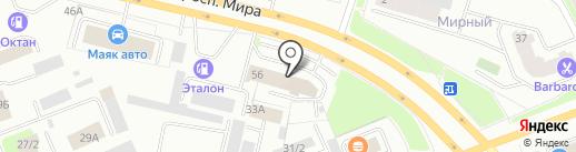 Урал-Интер-Кард на карте Сургута