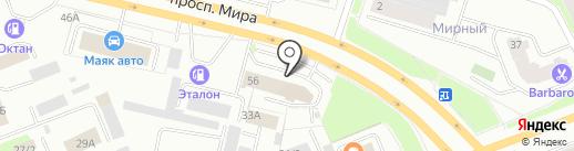 Ресурс-Авто на карте Сургута