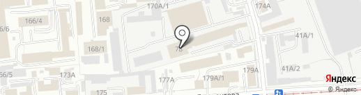 СМК на карте Омска