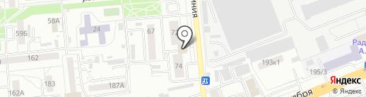 МИКРОСХЕМА на карте Омска