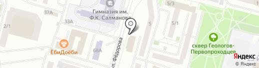 Центр подготовки персонала на карте Сургута