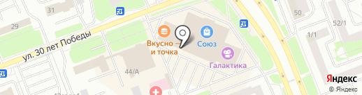Гран При на карте Сургута