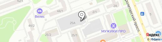 Расчетно-кассовый центр-9 на карте Сургута