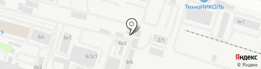КРиТ на карте Сургута