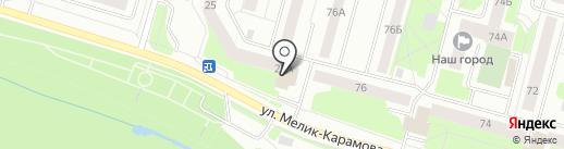 Броско фитнес на карте Сургута