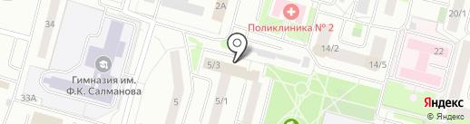 Дирекция дорожно-транспортного и жилищно-коммунального комплекса на карте Сургута