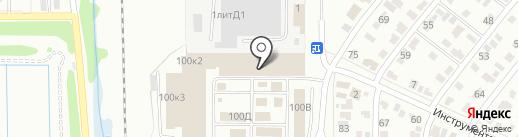 Европейская Булавка на карте Омска
