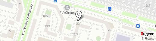 Флагман на карте Сургута