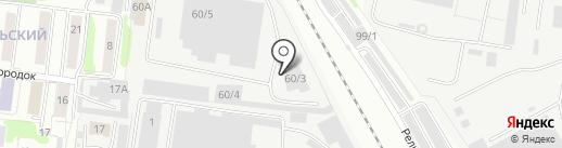 Премиум-Авто на карте Омска
