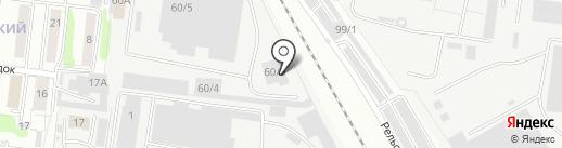 911 на карте Омска