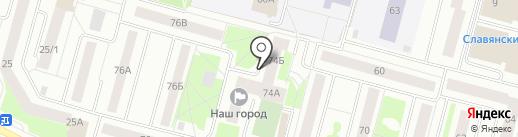 Построй Ка на карте Сургута