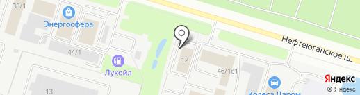 ТЕХНОХОЛОД на карте Сургута