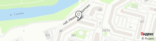 Арбитражный управляющий Воробей О.В. на карте Сургута