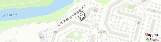 Центр ногтевой индустрии на карте Сургута