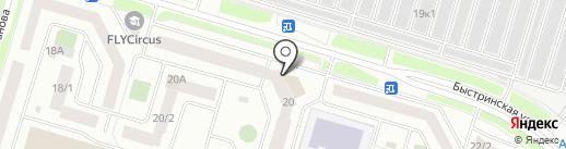 Промышленное и гражданское строительство на карте Сургута
