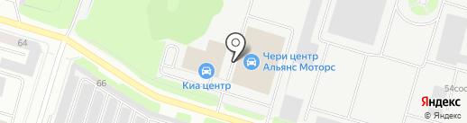Кай и Герда на карте Сургута