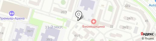 Магазин цветов на карте Сургута