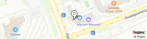 ЦветО`К на карте Сургута