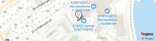 Автоцентр Евразия на карте Омска