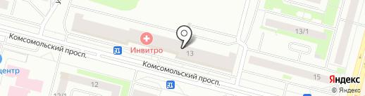 Соляное на карте Сургута