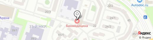 Бабушкины Рецепты на карте Сургута