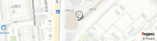 КомодовО на карте Омска